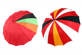 エヴァンゲリオンコラボレーション洋傘【「式波・アスカ・ラングレーモデル」+「エヴァンゲリオン2号機モデル」】セット