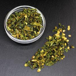 Chilli Jalapeño geschrotet grün (30 g)