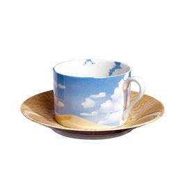 80-52 Tazza Tè - Cappuccino & Piattino / Tea c/s