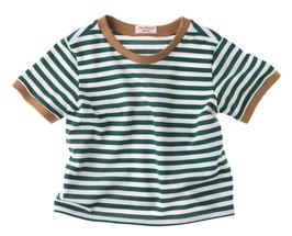 T-shirt-grün/weiß