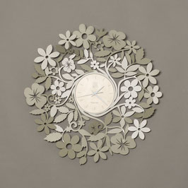 "Orologio ""Flowers"" sabbia Arti e Mestieri"