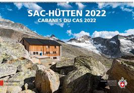 Marco Volken: SAC-Hütten – KALENDER 2022