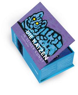 KUNSTKARTENBOX: Die Katzen in seiner Kunst