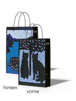 Tragetasche klein «Bendicht Friedli: Katzen in seiner Kunst»