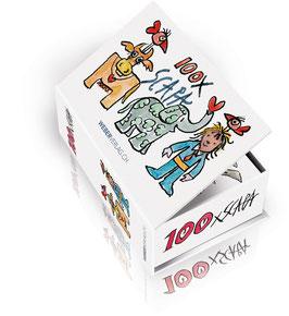 Postkartenbox 100 Mal Ted Scapa
