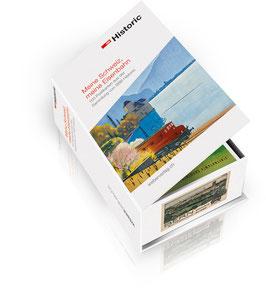 POSTKARTENBOX Meine Schweiz, meine Eisenbahn