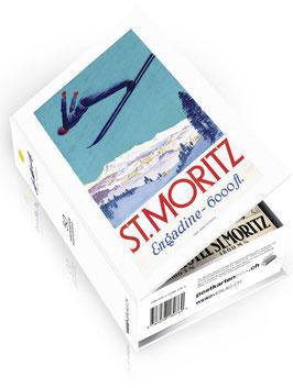 Postkartenbox St. Moritz