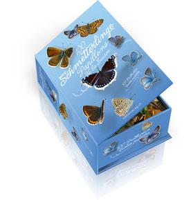 POSTKARTENBOX 100 Schmetterlinge der Schweiz