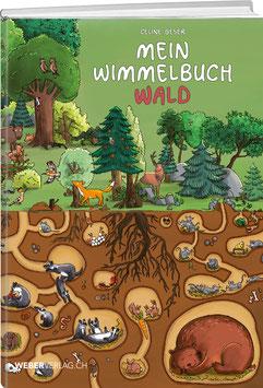 Celine Geser: Mein Wimmelbuch Wald