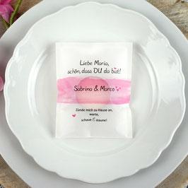 Licht-Botschaft zur Hochzeit, Design Aquarellband