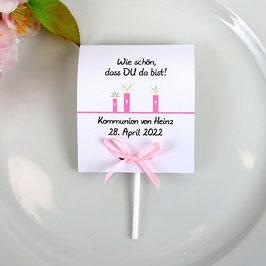 Lutscher Kommunion/Konfirmation, Design Kerzen
