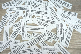 10 Stück Glücksbotschaften für die Kommunion/Konfirmation