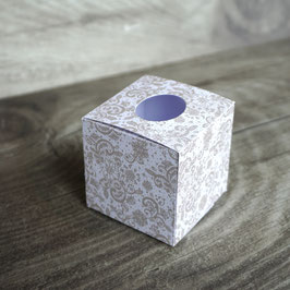 "Freudentränen Taschentücher Box, Design ""Spitze"""