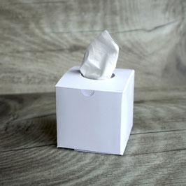 Freudentränen Taschentücher Box Weiß