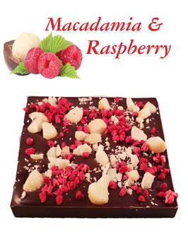 Bar : 54% Dark Macademia and Raspberry
