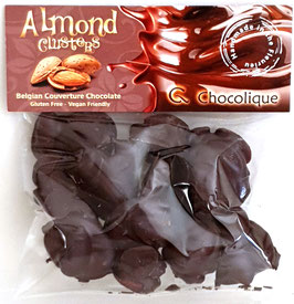 Almond Clusters Dark 54% chocolate