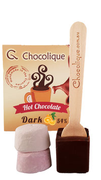 Hot chocolate : Orange 54% Dark