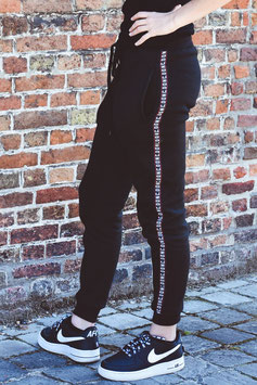 Black Women's Tape Jogging