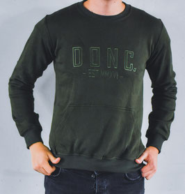 Army Green Men's Sweater