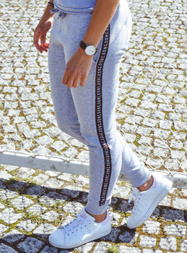 Grey Women's Tape Jogging