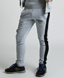 Grey Black Men's Joggers