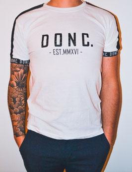 White/Black Men's Tape Shirt