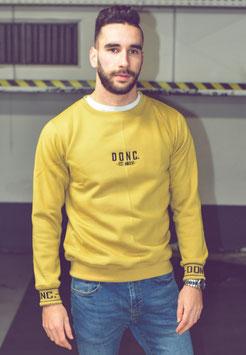 Camel Men's Script Sweater