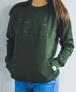 Army Green Women's Sweater