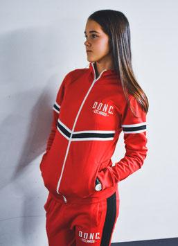 Red Women's V Tapes Trackjacket