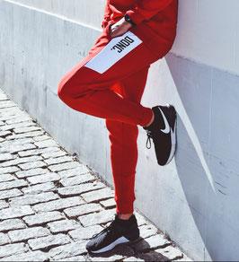 Unisex Red/White Jogging