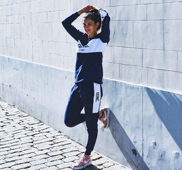Unisex Blue/White Jogging