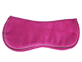 Pad memory Schaum Alcantara Oberfläche marine oder pink