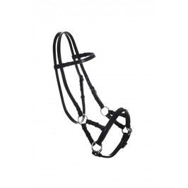 Sidepull Nordic Horse, Leder schwarz