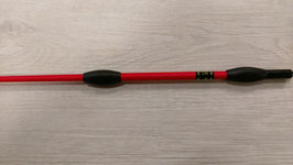 Fleck Balance Gerte Sport rot mit Gummiknubbeln