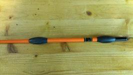 Fleck Balance-Gerte Sport orange mit Gummiknubbeln