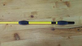 Fleck Balance-Gerte Sport gelb mit Gummiknubbeln
