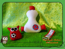 Fußball-Set rot