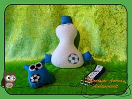 Fußball-Set blau