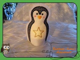 Teelichthülle Pinguin -1-
