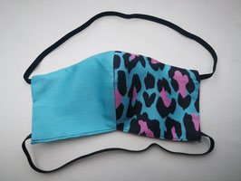 Pink & Turquoise Leopard