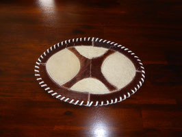 Felltischläufer oval