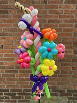 051 Ballonbloemen / Ballonboeket