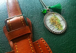 Collana con pendente mappa - Personalizzata