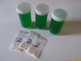3 x 100 ml Riesen-Seifenblasen-Konzentrat für je 1,8 Liter Mischung (insgesamt 5,4 Liter)