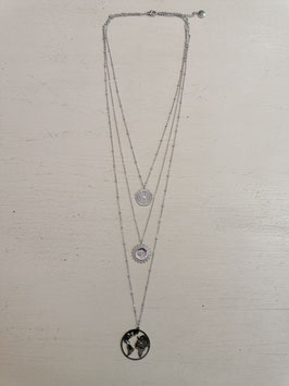 """3er Kette """"Discovery"""" Silber"""