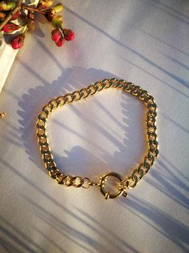 Gliederarmband Gold