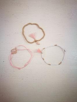 "Armband ""Rosé"" Mix"