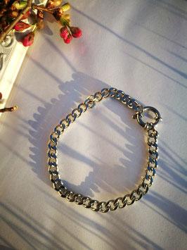 Gliederarmband Silber