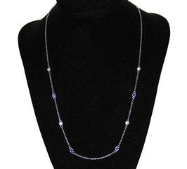 Collana stile Chanel in argento 925°°°