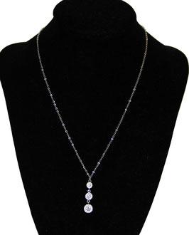 Collana con pendente in argento 925°°°